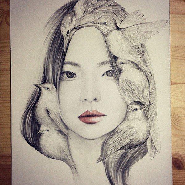 Fantásticos Dibujos De Okart Arte Feed